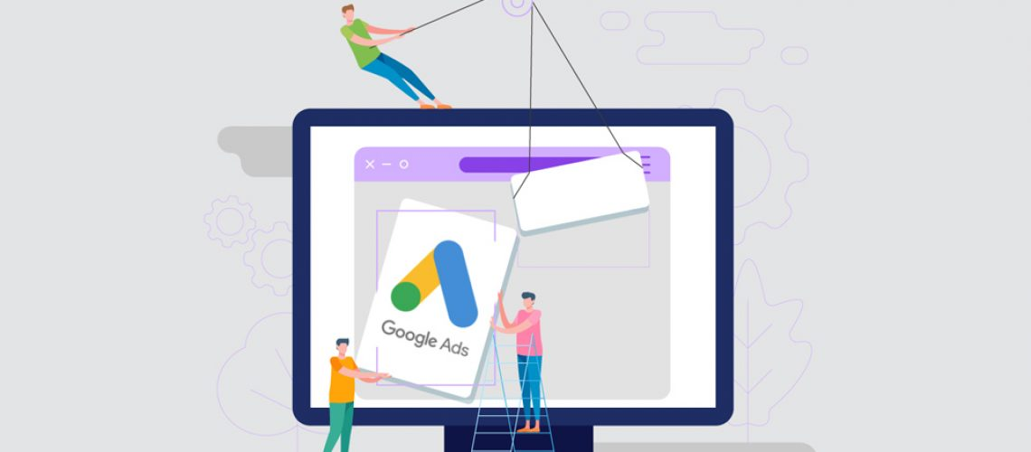 Google zoekmachine advertenties